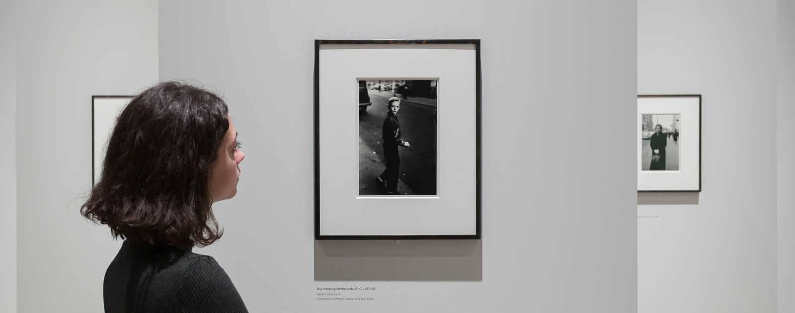 Installation view of Diane Arbus - In the Beginning at Hayward Gallery