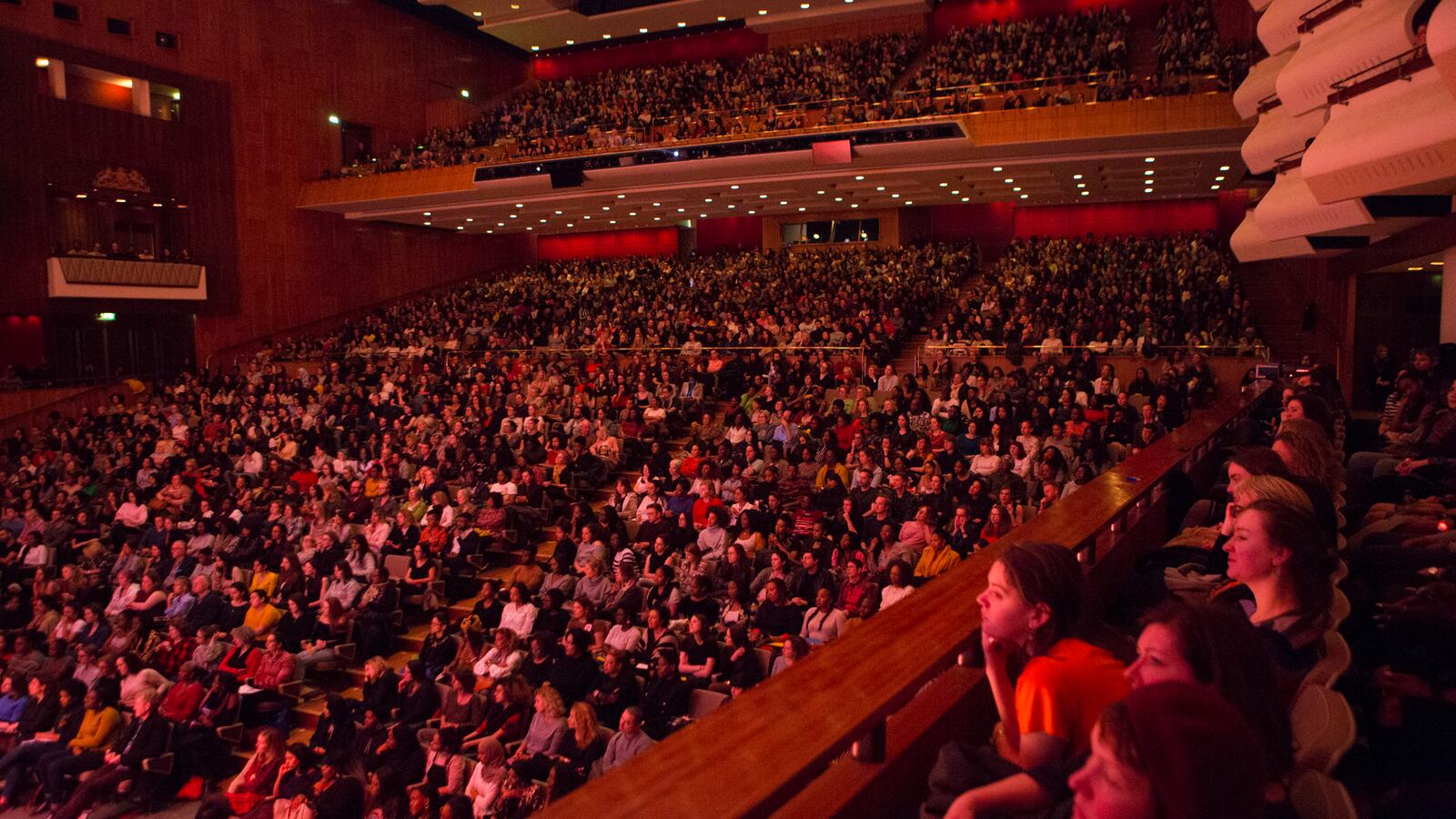 WOW - Women of the World talk in Royal Festival Hall