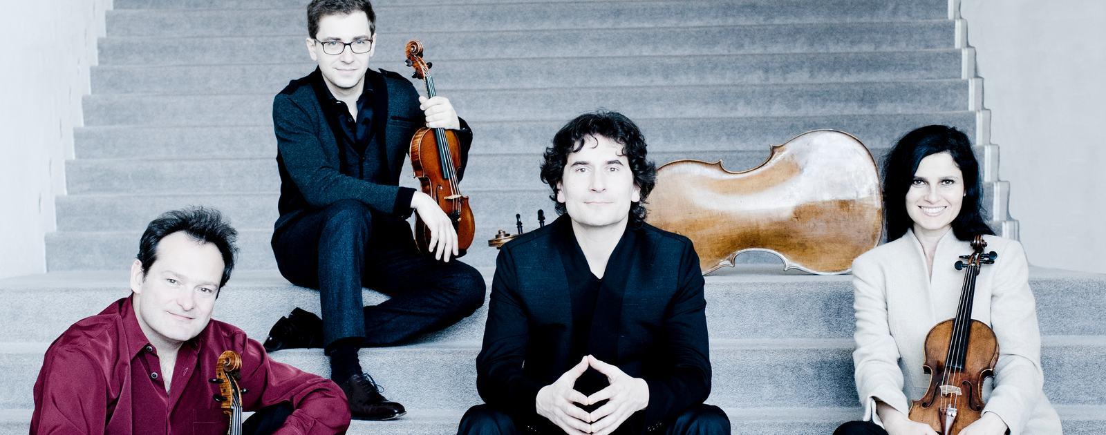 Belcea Quartet.Photo: Marco Borggreve
