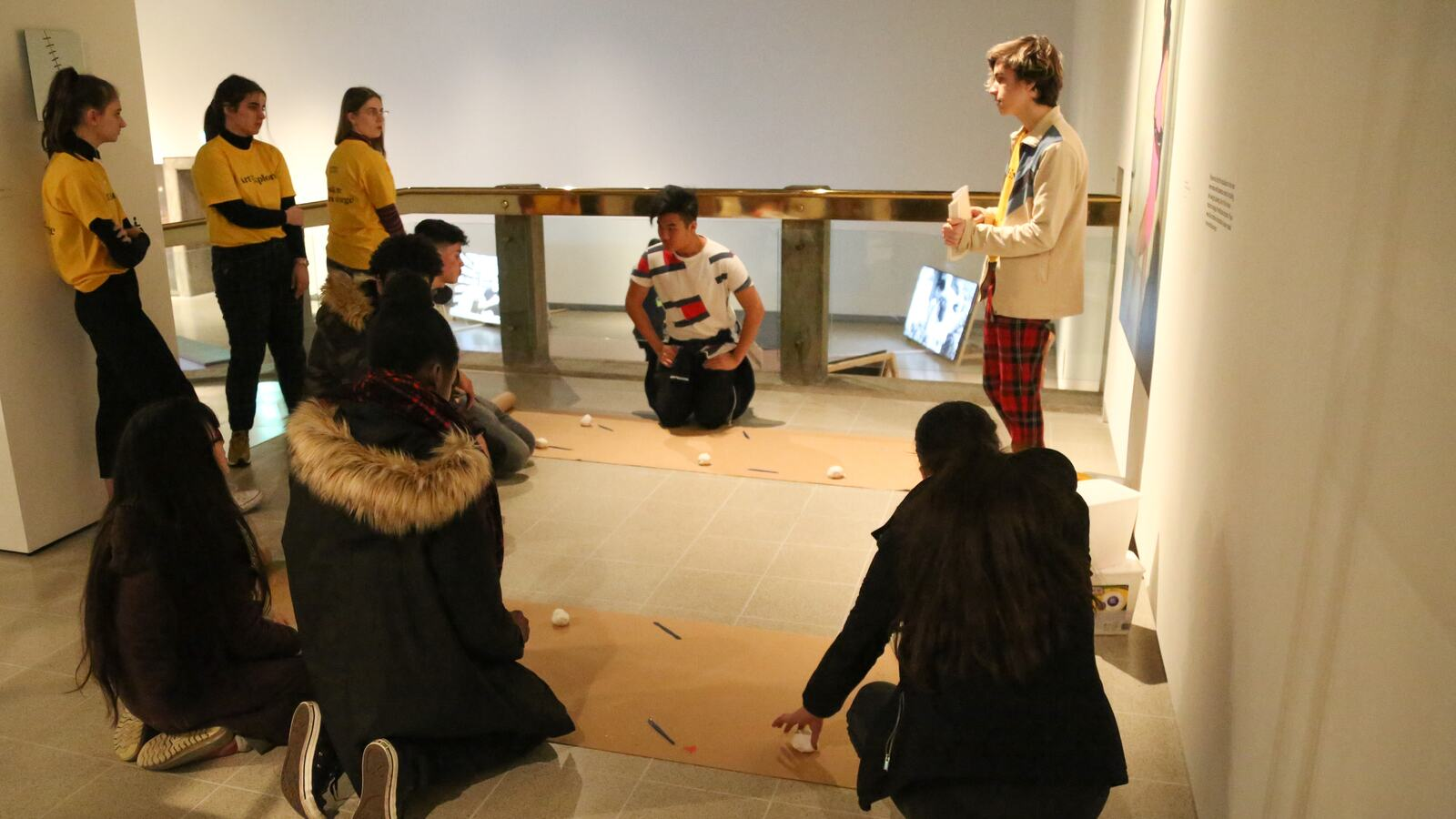 Creative Learning discussion in Hayward Gallery