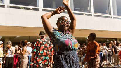 Dancing on Festival Terrace at Southbank Centre
