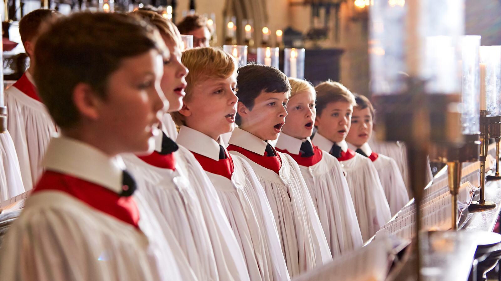 Christmas Choir.Christmas With King S College Choir
