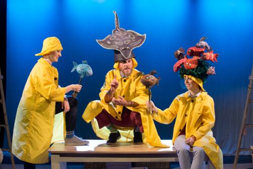 Tiddler and Other Terrific Tales performance on stage