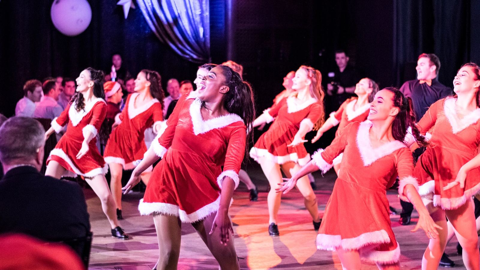 Dancers at Snow Ball, Southbank Centre