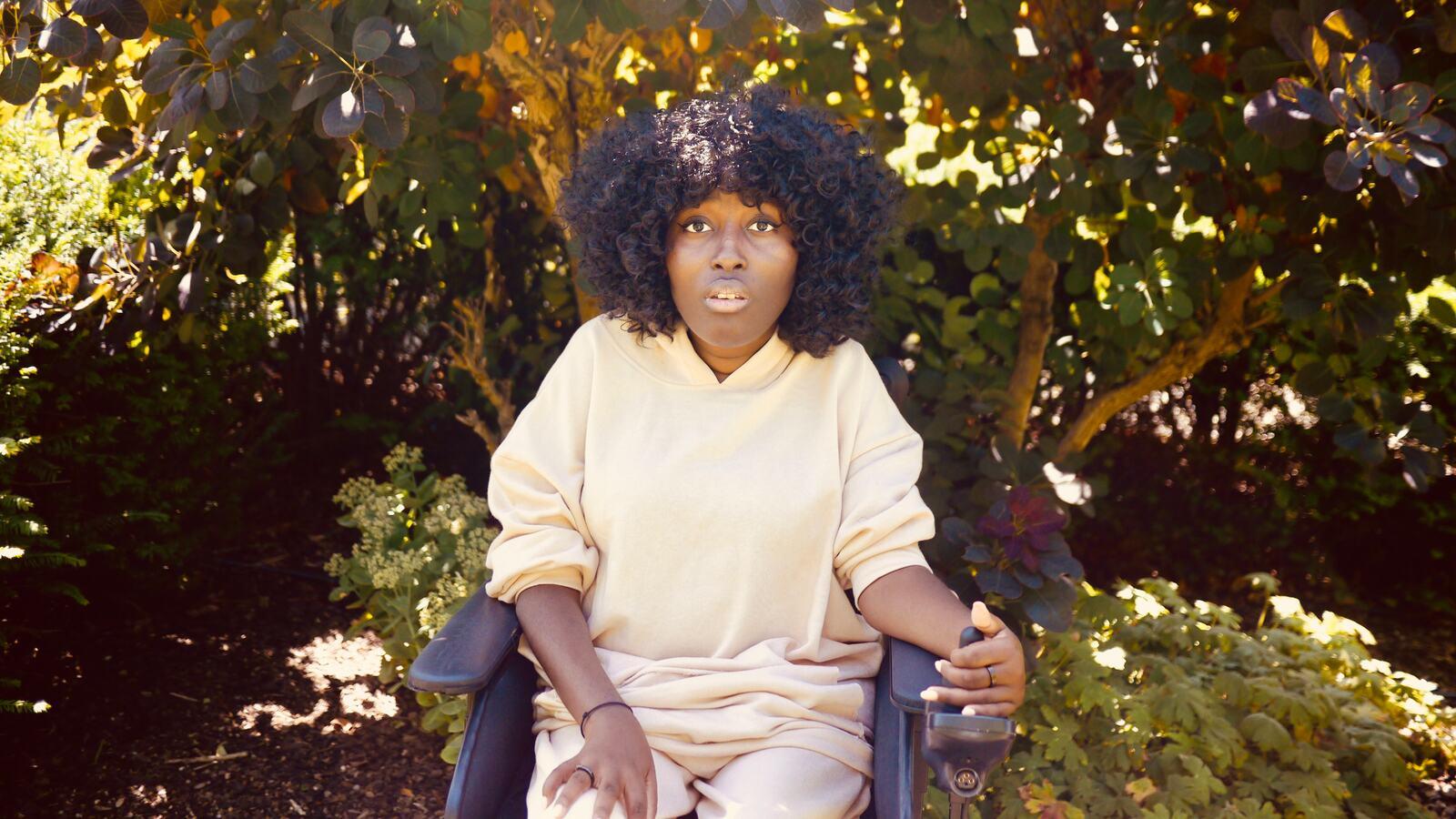 Jacqui, spoken word artist