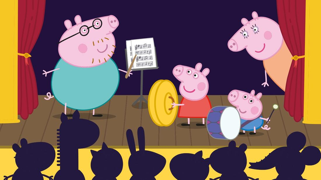 Peppa Pig's First Concert