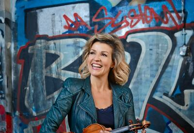 Anne Sophie Mutter, violinist