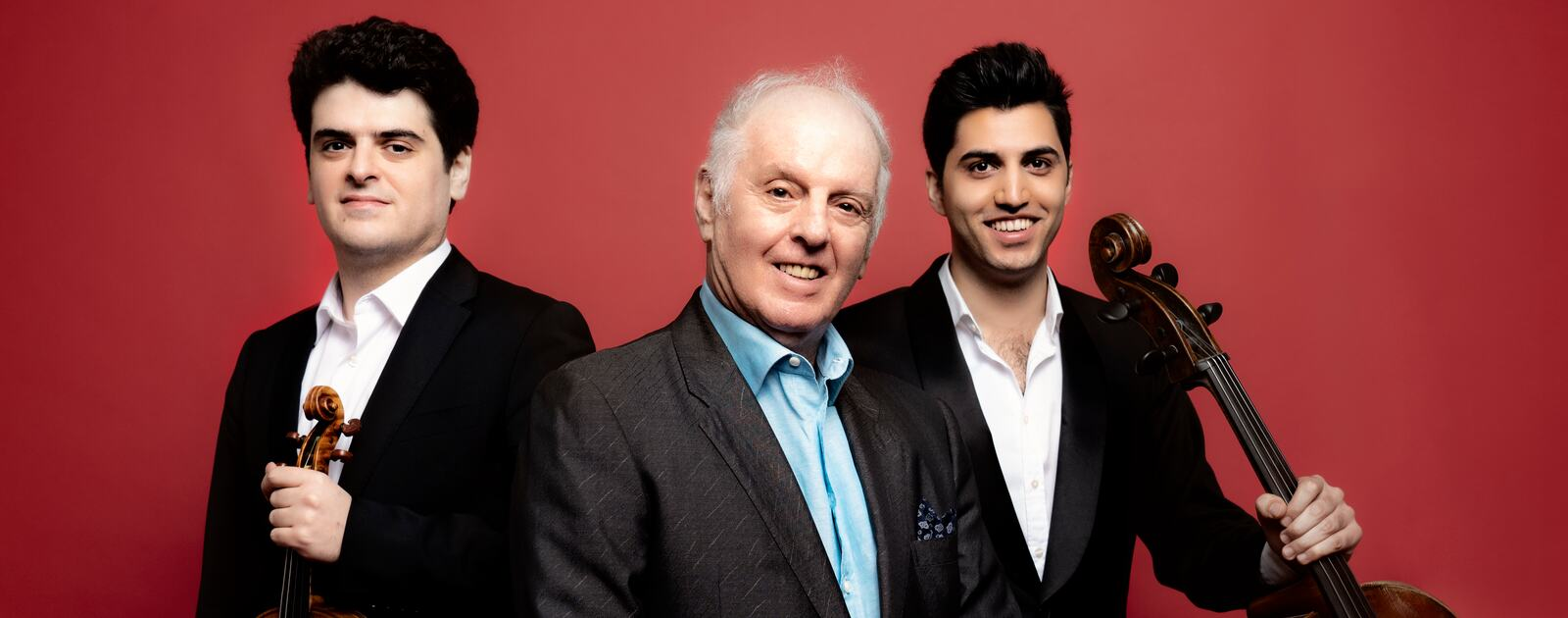 Barenboim, Barenboim & Soltani, musical trio