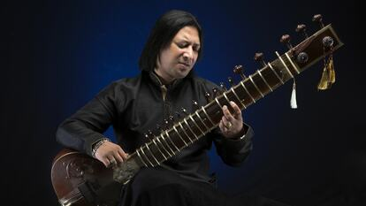 Shakir Khan, sitar player