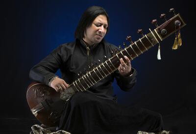 Shakir Khan, sitar player
