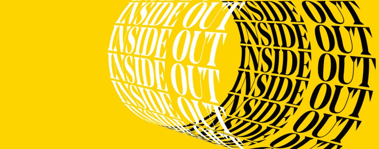 Inside Out text design