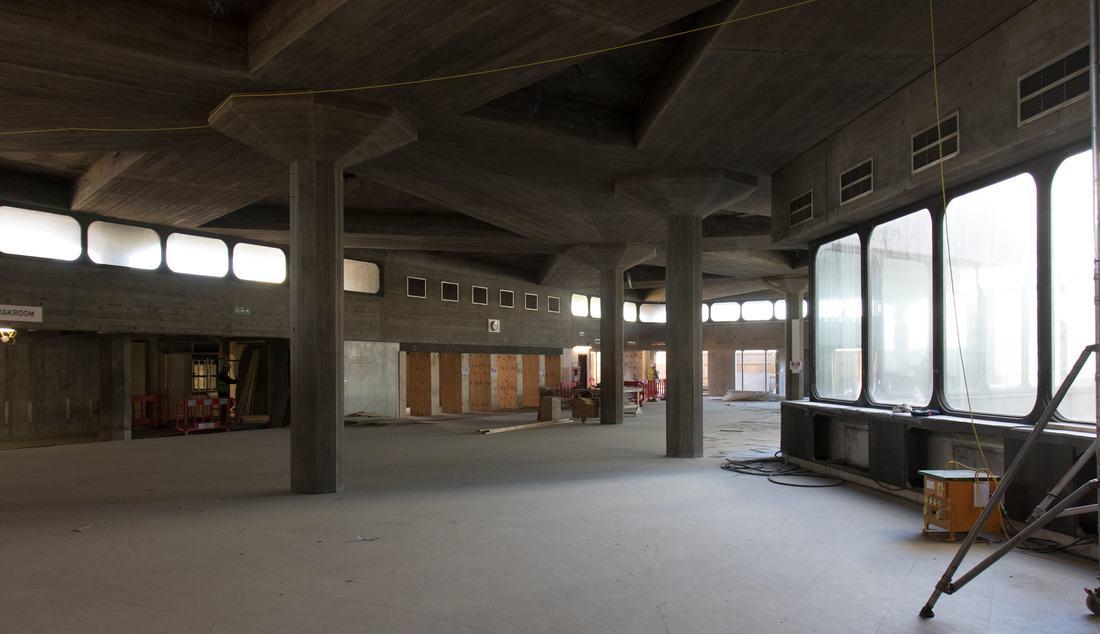 Queen Elizabeth Hall Refurbishment Work