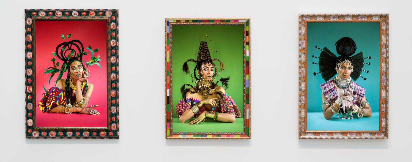 Install view of Kiss My Genders, Hayward Gallery, 2019