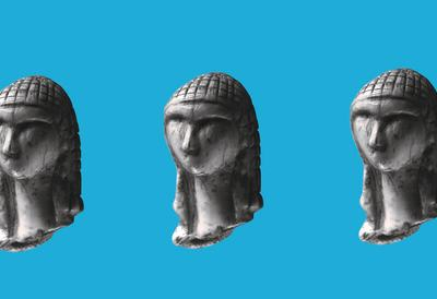 Sapiens, three busts