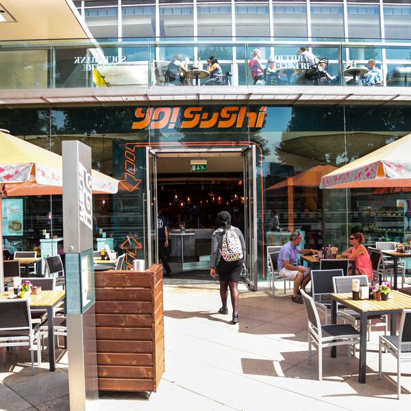 Yo Sushi Restaurant at the Southbank Centre