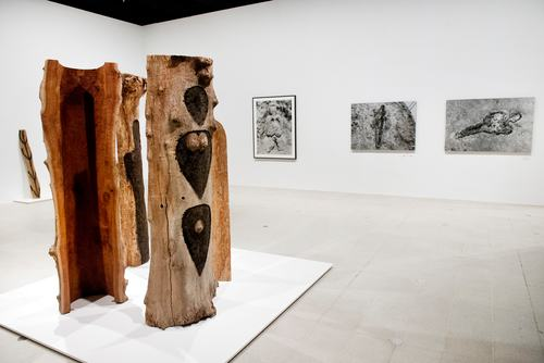 Ana Mendieta at Hayward Gallery, London. .Photo by Linda Nylind. 22/9/2013.
