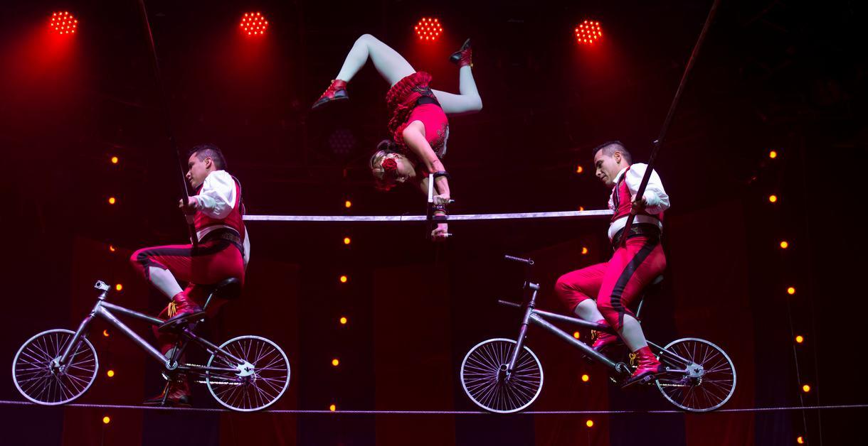 Performers at Circus 1903