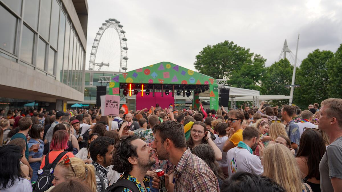 QTIPOC Pride Party 2019 at Royal Festival Hall TerracePride Party 2019