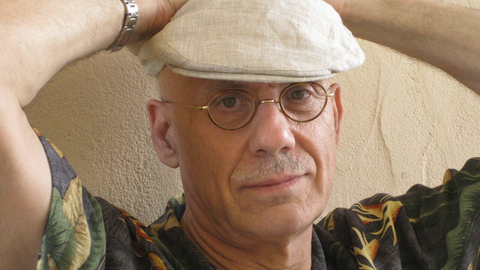 Headshot of James Ellroy, American crime writer