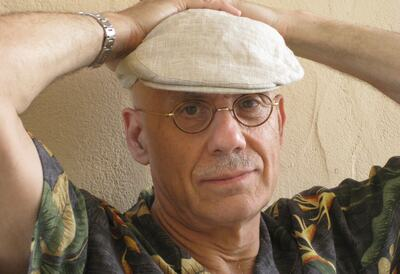 Headshot of James Ellroy, American crime writer