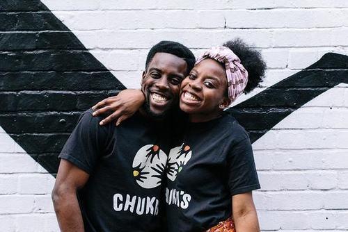 Emeka and Ifeyinwa Frederick of Chuku's