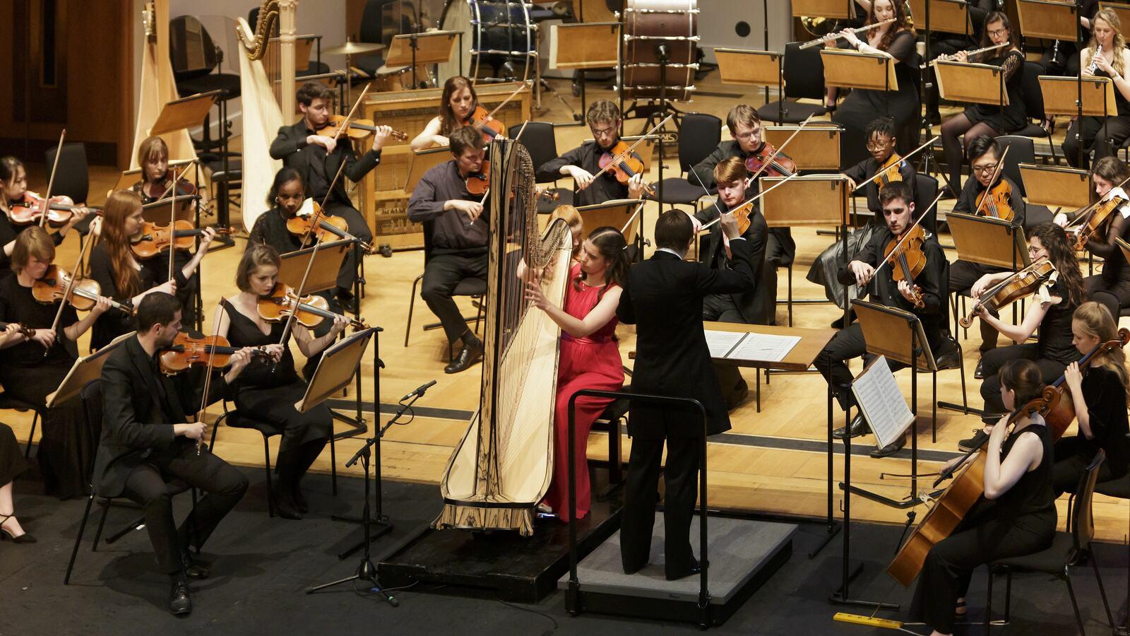 Trinity Laban Symphony Orchestra performing