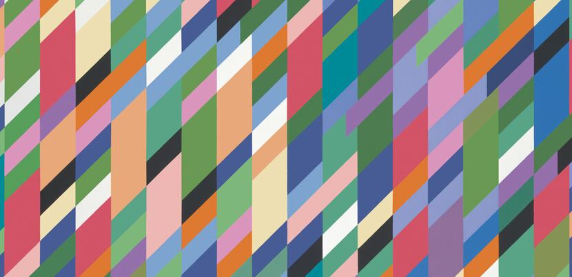 Bridget Riley, High Sky (detail), 1991. Oil on canvas. 165 x 227 cm. © Bridget Riley 2018. All rights reserved.
