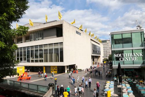 Views of the Royal Festival Hall