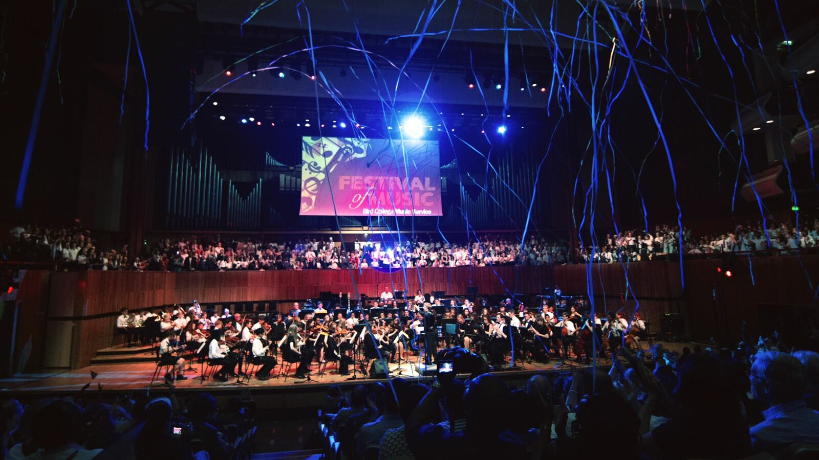 Bird College Festival of Music Concert in Royal Festival Hall