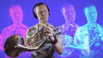 Roger Montgomery, principal horn for OAE