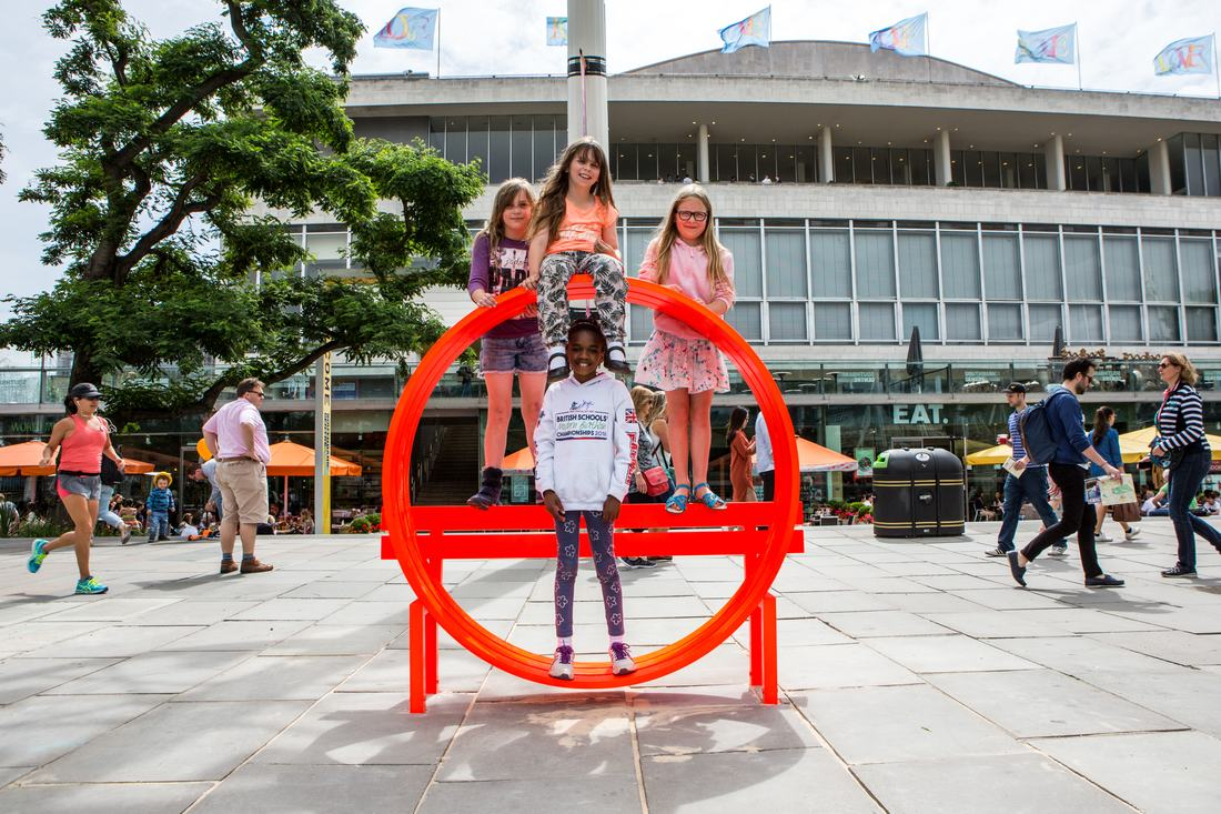 Jeppe Hein's Modified Social Benches