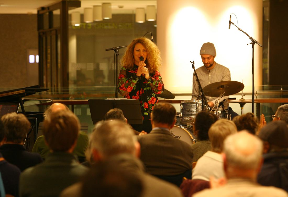 Emilia Martensson - Friday Tonic Nordic Matters Launch 13 January 2017