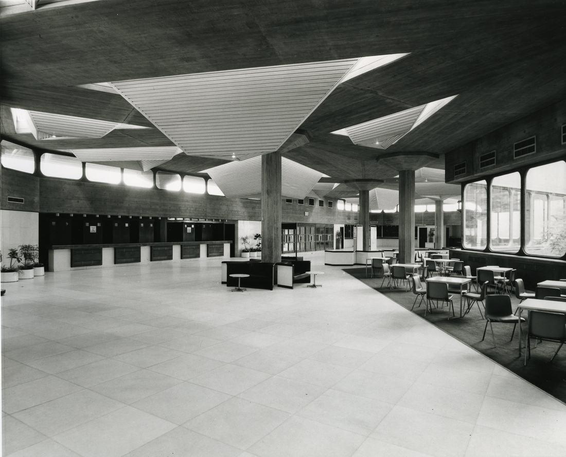 Queen Elizabeth Hall 1970