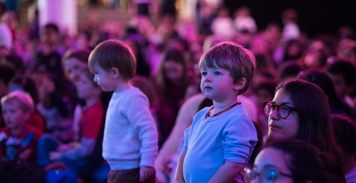 Child in audience