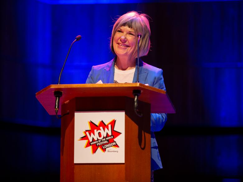 Jude Kelly opening  WOW — Women of the World festival