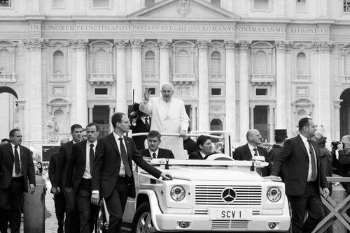 F36MFR Pope Francis in Vatican