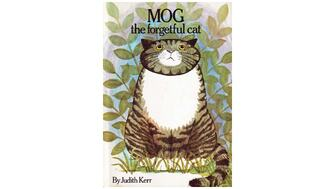 Front cover of the children's book Mog the Forgetful Cat