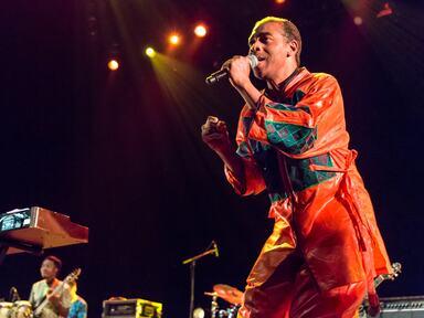 Singer, Femi Kuti at Meltdown Festival
