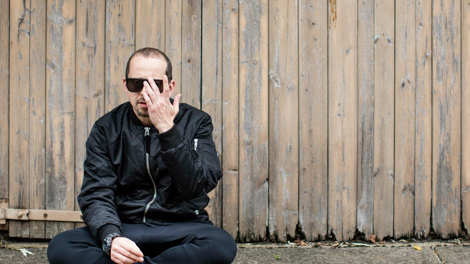 Kode9 (Steve Goodman)..Glasgow-born, London-based electronic music artist, DJ, and owner of the Hyperdub record label...London.Photograph by David Levene.3/11/15
