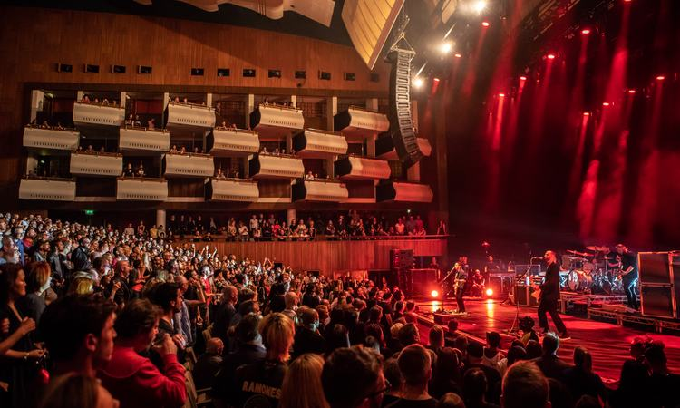 Placebo perform in Southbank Centre's Royal Festival Hall as part of Robert Smith's Meltdown