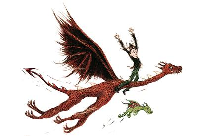 How to Train Your Dragon illustration