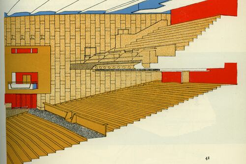 Drawing of Royal Festival Hall