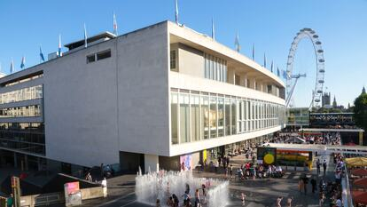 Aerial Views of the Southbank Centre and Visitors
