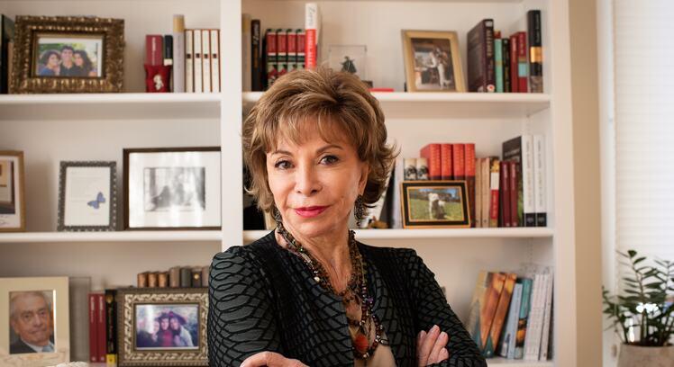 Isabel Allende, author