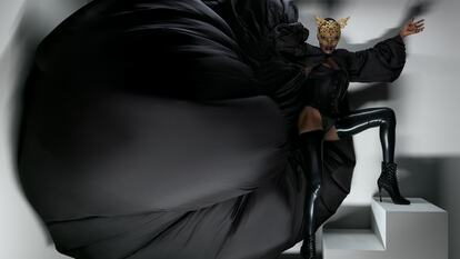 Grace Jones, model, singer, songwriter and record producer