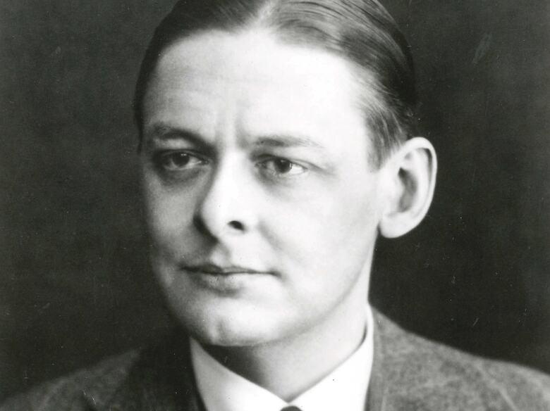 Portrait of poet,  T.S. Eliot