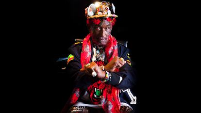 Lee 'Scratch' Perry, singer and producer