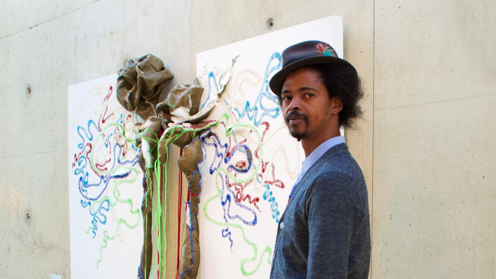 Nicholas Hlobo, artist