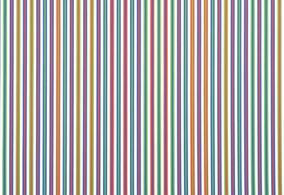 Bridget Riley, Paean (detail), 1973. Acrylic on canvas. 290.2 x 287.3 cm. © Bridget Riley 2019. All rights reserved.