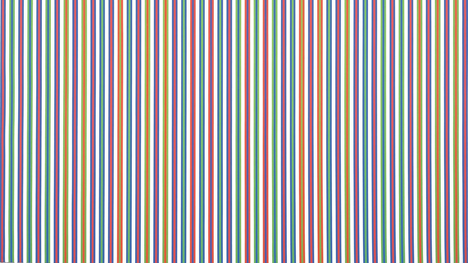 Bridget Riley, Paean (detail), 1973. Acrylic on canvas. 290.2 x 287.3 cm. © Bridget Riley 2019. All rights reserved.
